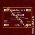Darilni bon za 100 EUR