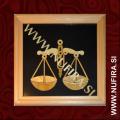 Slika iz slame, Horoskop, Tehtnica