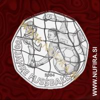 2004 Avstrija 5 EUR (Football)
