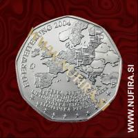 2004 Avstrija 5 EUR (EU Enlargement)