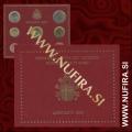 2004 Vatikan SET BU (1c - 2 EUR)