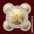 2006 Nemčija 2 EUR (Holstentor) - ADFGJ