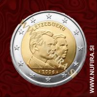 2006 Luksemburg 2 EUR (Guillaume)