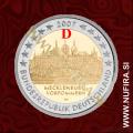 2007 Nemčija 2 EUR (Mecklenburg-Vorpommern) - D
