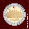 2007 Nemčija 2 EUR (Mecklenburg-Vorpommern) - G