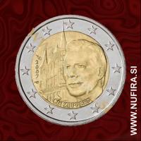 2007 Luksemburg 2 EUR