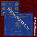 2007 Vatikan SET BU (1c - 2 EUR)