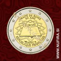 2007 Francija 2 EUR (Rimska pogodba)