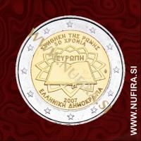 2007 Grčija 2 EUR (Rimska pogodba)