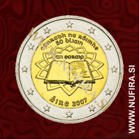 2007 Irska 2 EUR (Rimska pogodba)