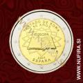 2007 Španija 2 EUR (Rimska pogodba)