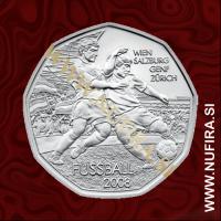 2008 Avstrija 5 EUR (Nogomet: Dribbling)