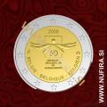 2008 Belgija 2 EUR (Človekove pravice)