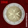 2008 Malta 2 EUR (redni)