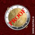 2008 Slovenija 2 EUR (Primož Trubar), PROOF