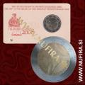 2008 Slovenija 2 EUR (Primož Trubar), kartica