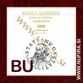 2008 Slovenija SET BU (1c - 2 EUR + 3 EUR)