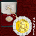 2009 Belgija 2 EUR (Louisa Braille), PROOF