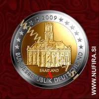 2009 Nemčija 2 EUR (Saarland) - A