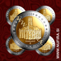 2009 Nemčija 2 EUR (Saarland) - ADFGJ