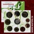 2009 Luksemburg BU SET (1c - 2 EUR + 2x 2 EUR)