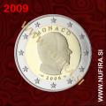 2009 Monako 2 EUR (redni)