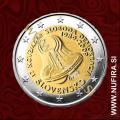2009 Slovaška 2 EUR (Žametna revolucija)