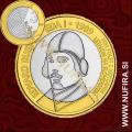 2009 Slovenija 3 EUR (Edvard Rusjan)