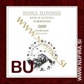 2009 Slovenija SET BU (1c - 2 EUR + 3 EUR)