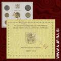 2009 Vatikan SET BU (1c - 2 EUR)