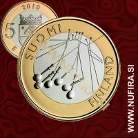 2010 Finska 5 EUR (Satakunta)