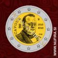 2010 Italija 2 EUR (Camillo Benso)