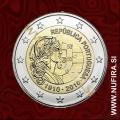 2010 Portugalska 2 EUR (Portugalska republika)