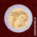 2010 San Marino 2 EUR (Sandra Botticelli), brez folderja