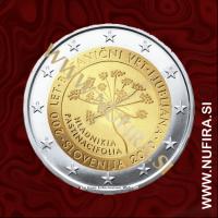 2010 Slovenija 2 EUR (Botanični vrt)