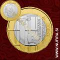 2010 Slovenija 3 EUR (Ljubljana - UNESCO)