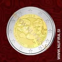 2011 Belgija 2 EUR (Dan žena)