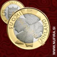 2011 Finska 5 EUR (Ostrobothnian)