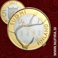 2011 Finska 5 EUR (Lapland)