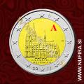 2011 Nemčija 2 EUR (Kölner Dom) - A