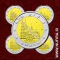 2011 Nemčija 2 EUR (Kölner Dom) - ADFGJ