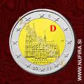 2011 Nemčija 2 EUR (Kölner Dom) - D