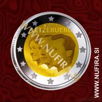 2011 Luksemburg 2 EUR (Veliki vojvoda)