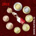 2011 Malta SET BU (1c - 2 EUR)