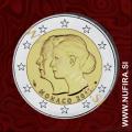 2011 Monako 2 EUR (Poroka)