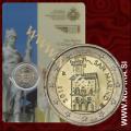 2011 San Marino 2 EUR, papež Benedikt XVI.