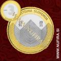 2011 Slovenija 3 EUR (Samostojna Slovenija)
