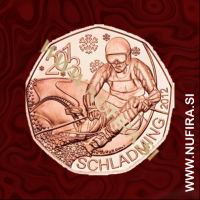 2012 Avstrija 5 EUR (Schladming 2013)