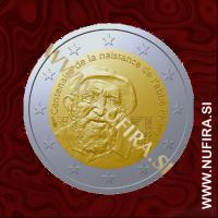 2012 Francija 2 EUR (Abbe Pierre)