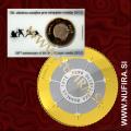 2012 Slovenija 3 EUR (Olimpijska medalja), kartica